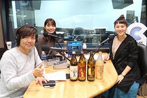 CROSS FM「K'sWAVE」に出演した際の代表うめのの画像